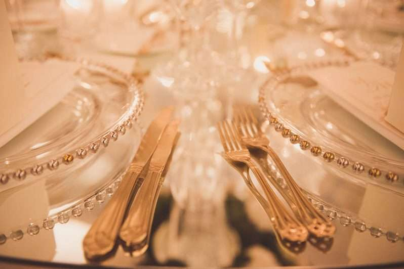 Wedding Dinner At The Savoy