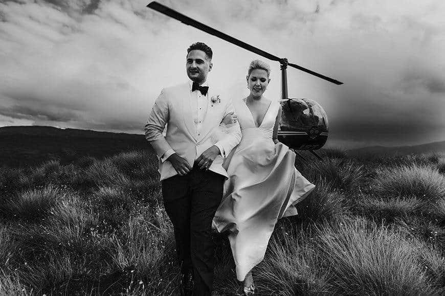 Mountain heli wedding - Luxury Wedding Gallery