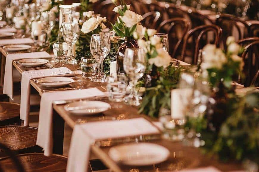 Organic tablescape - Luxury Wedding Gallery