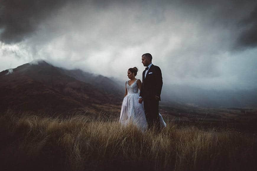 Queenstown moody skies - Luxury Wedding Gallery