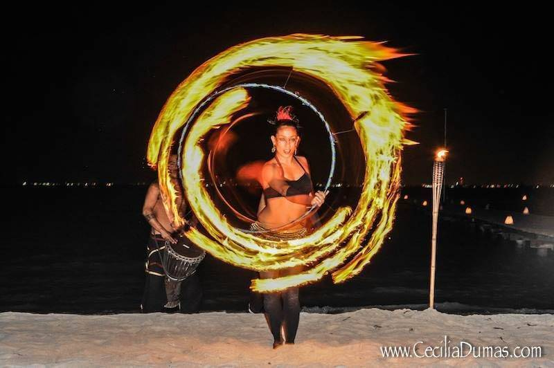 Sunhorse-Weddings-Fire-Dancers-Isla-Mujeres