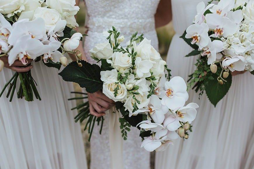 Whites and greens - Luxury Wedding Gallery