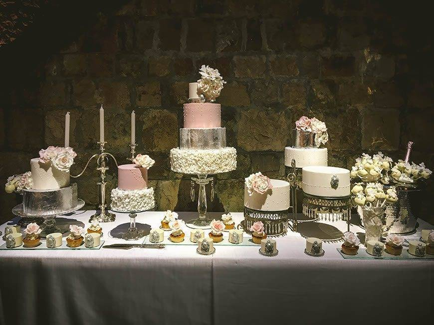 sella da vinci liata wedding sweet table  - Luxury Wedding Gallery