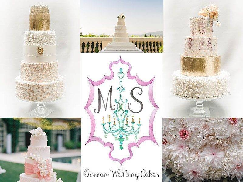 tuscan wedding cakes logo - Luxury Wedding Gallery