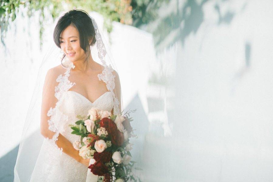 A Garden Wedding under SoCal Sunshine