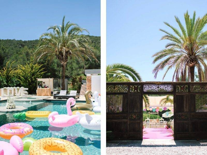 Three days of fun in the sun with Ma Chérie Weddings Ibiza