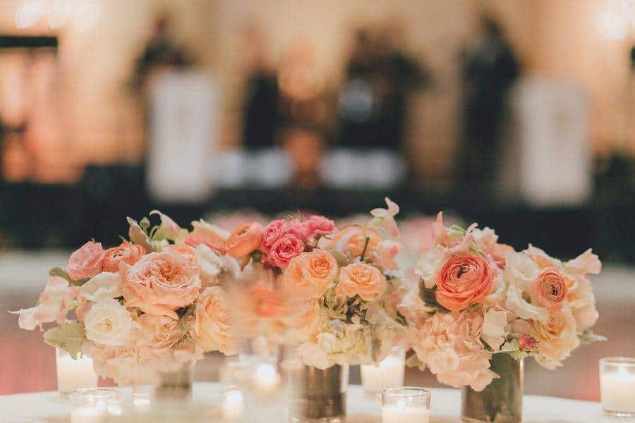 Peach and Pink for an Outdoor Wedding