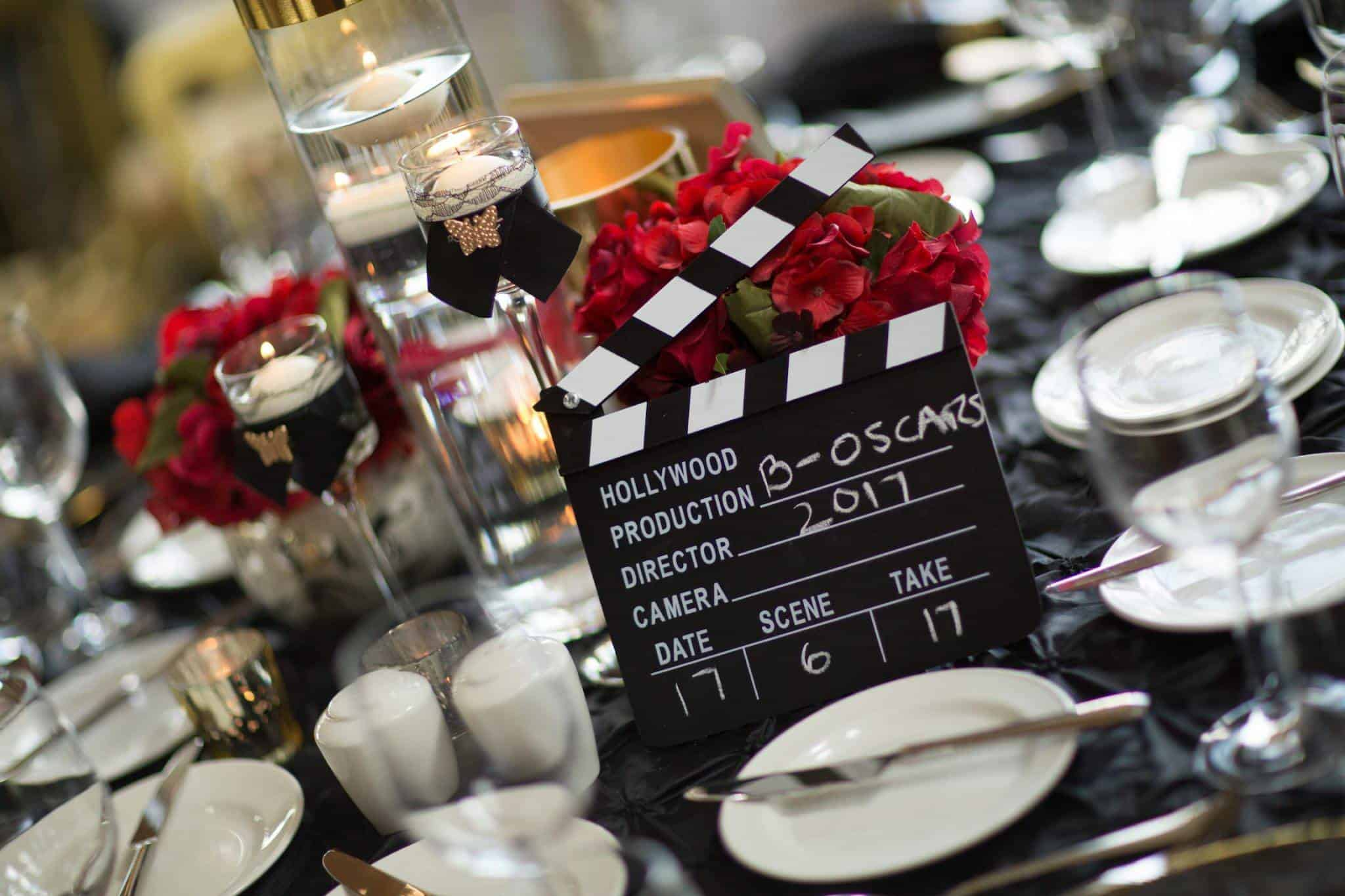 Theme your celebration - Hollywood style