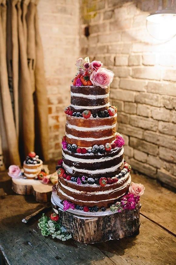 Naked Cake 1 1 - Luxury Wedding Gallery