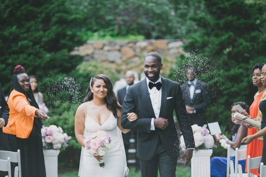 Simple Sophistication - Erica & Michael's Wedding
