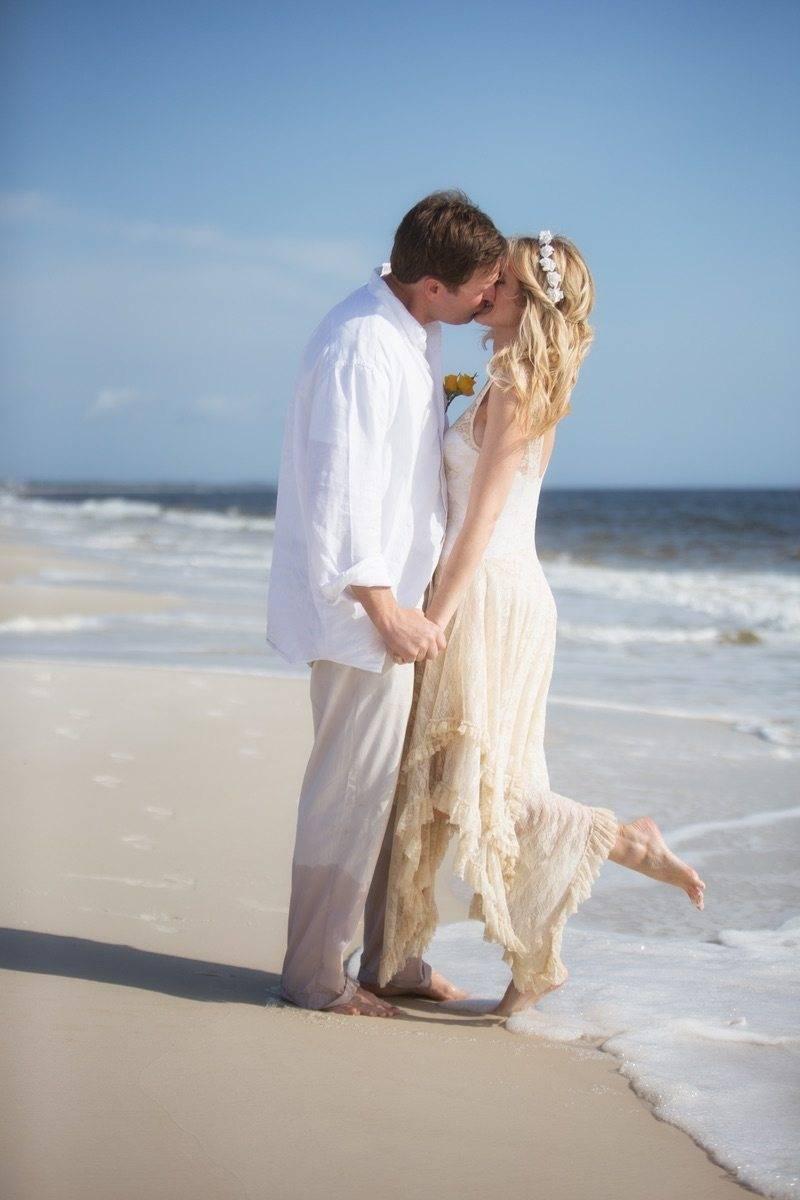 Blissful beach weddings