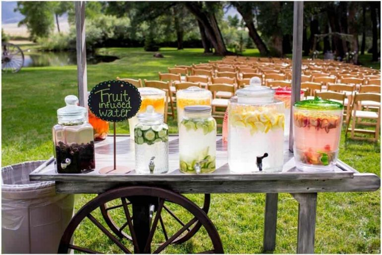 Keep them cool – surviving a summer wedding