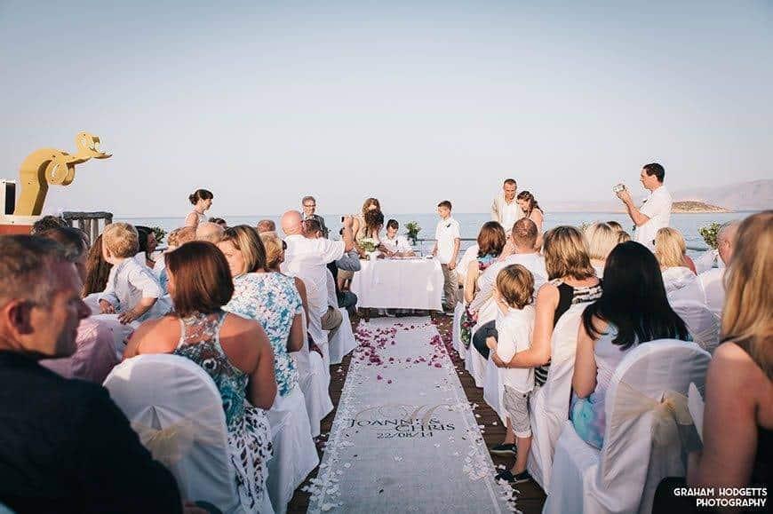 1 Wedding Ceremony Set Up 2 - Luxury Wedding Gallery