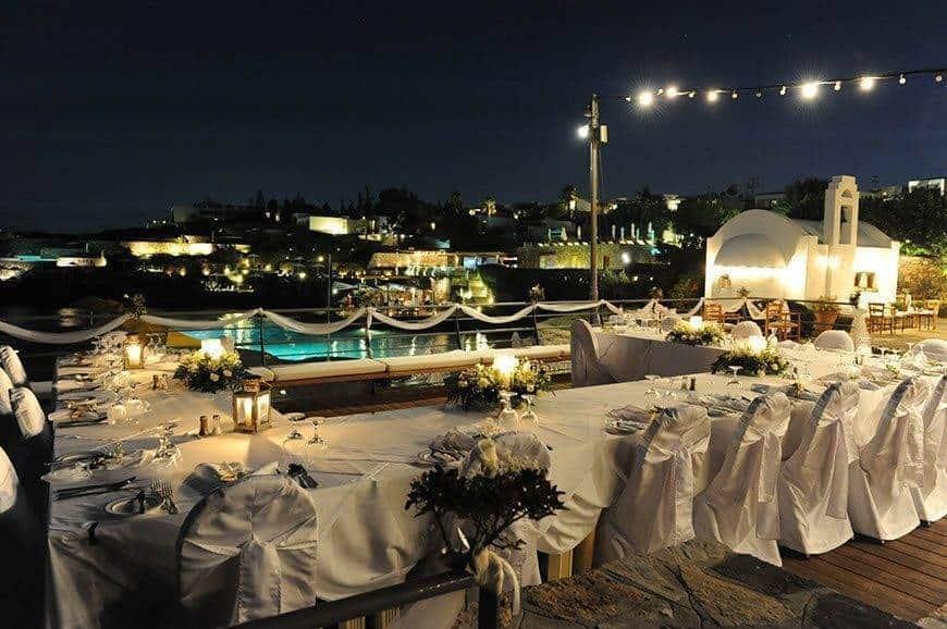 3. Wedding Dinner at Kefenion Terrace - Luxury Wedding Gallery