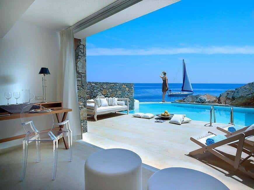 4. Bridal Club Studio Suite Private Pool Sea Front - Luxury Wedding Gallery
