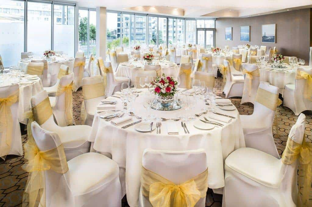 It's perfect for outdoor photos and their specialist team can advise and assist with every detail of planning the event. The spaces will accommodate up to 500 guests, and there's a good range of rooms to choose from, each boasting huge windows with those spectacular views.