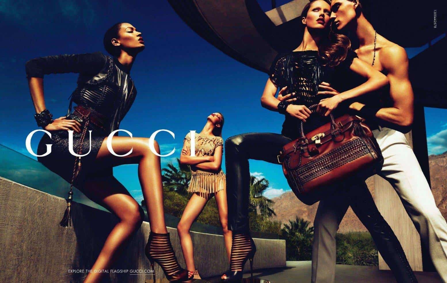 The guilty pleasure of Gucci