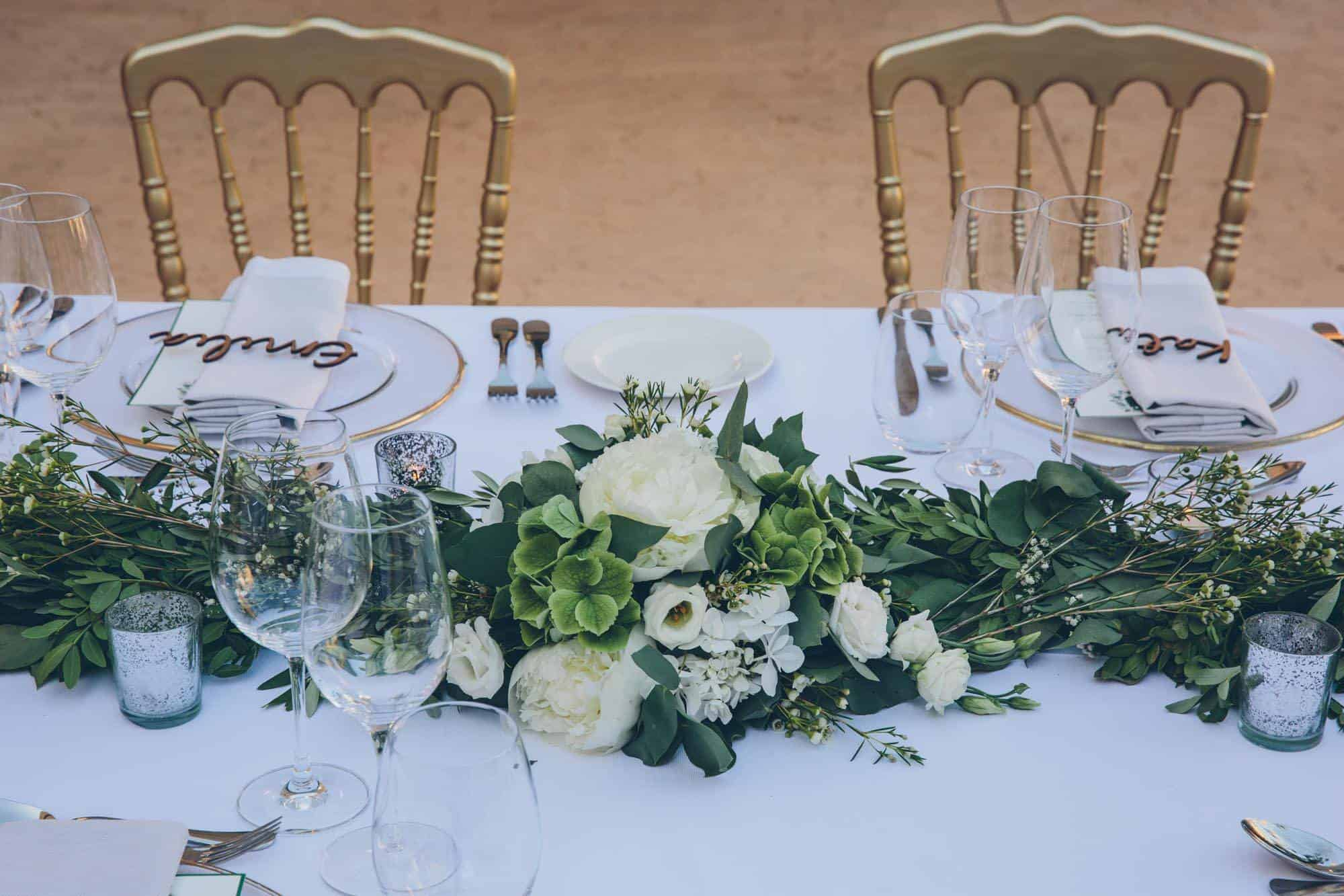 Married in Mallorca - table setting
