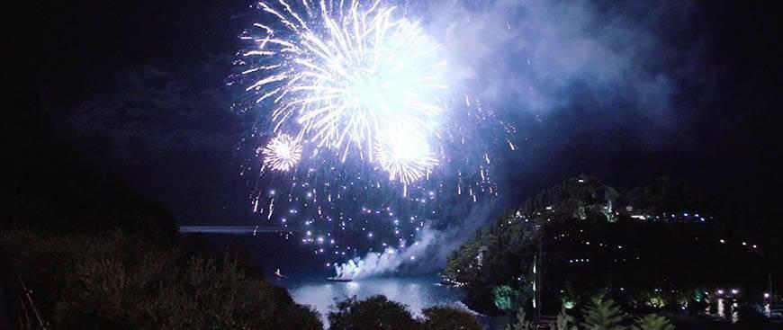 Fireworks in Portofino - Luxury Wedding Gallery