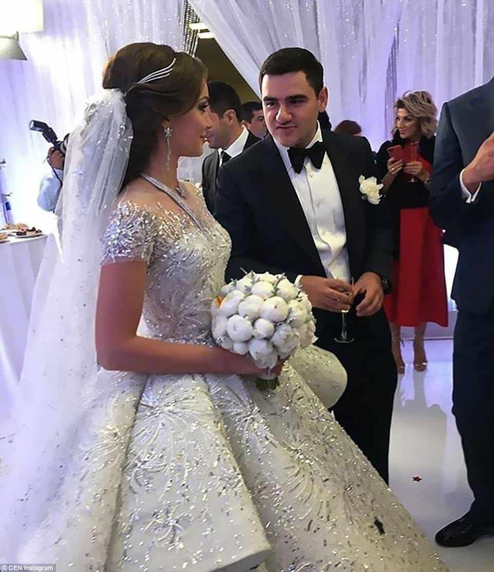 Lavish luxury at wedding of Armenian billionaire's son