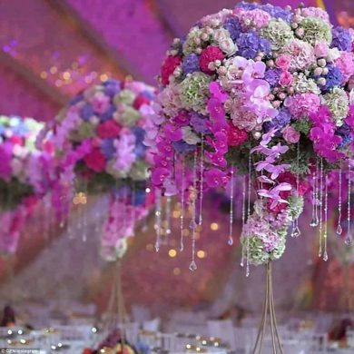 Lavish luxury wedding of Armenian billionaire's son