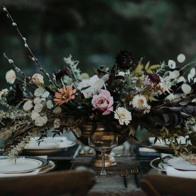 Decadent Darkness – Wedding Theme
