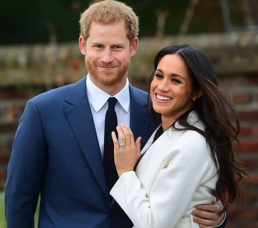 Prince Harry and Meghan Markle's engagement