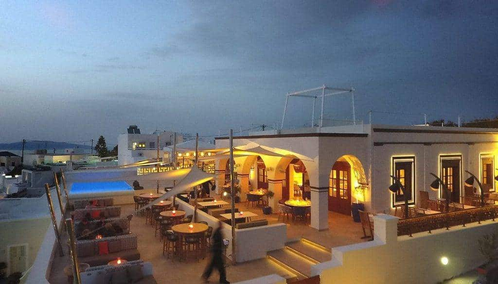 Review: La Maltese, Santorini