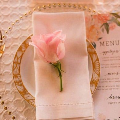 Pretty Pink Wedding Styled Shoot