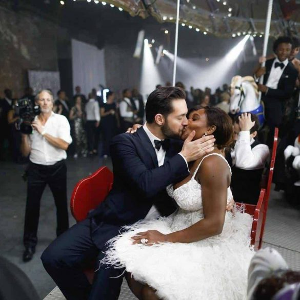 Serena Williams and Alexis Ohanian New Orleans Fairytale ball