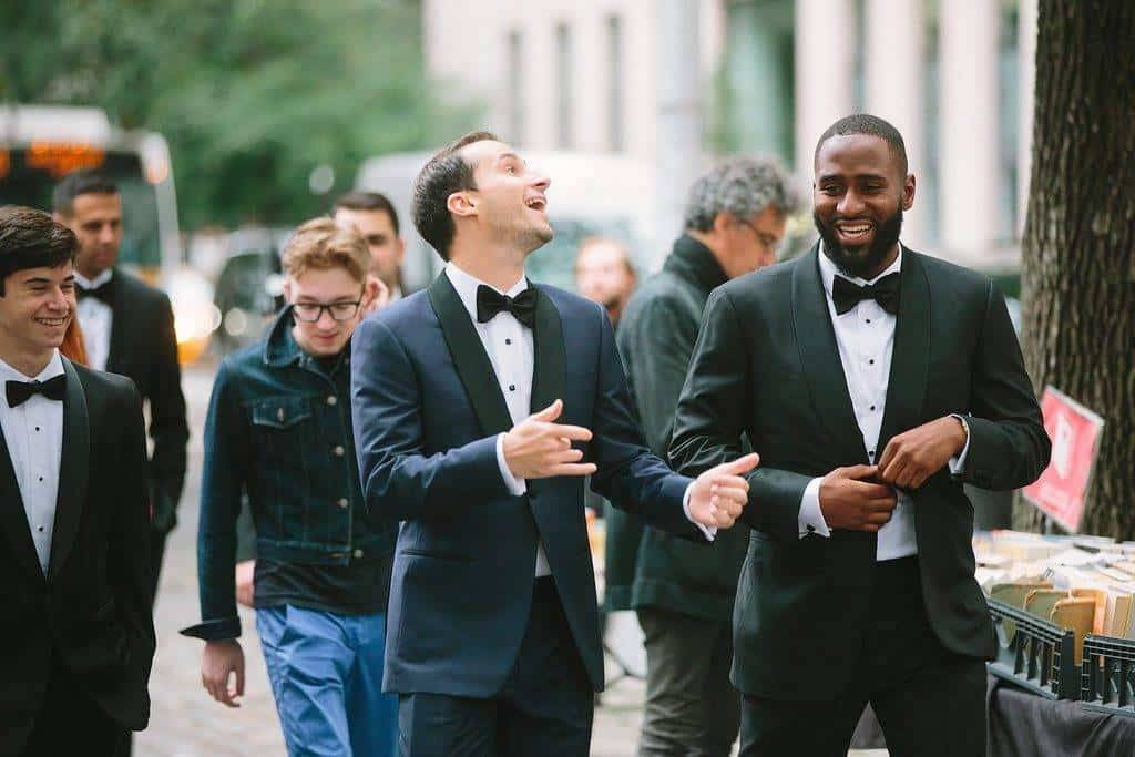 A Grand New York City Wedding The Boys