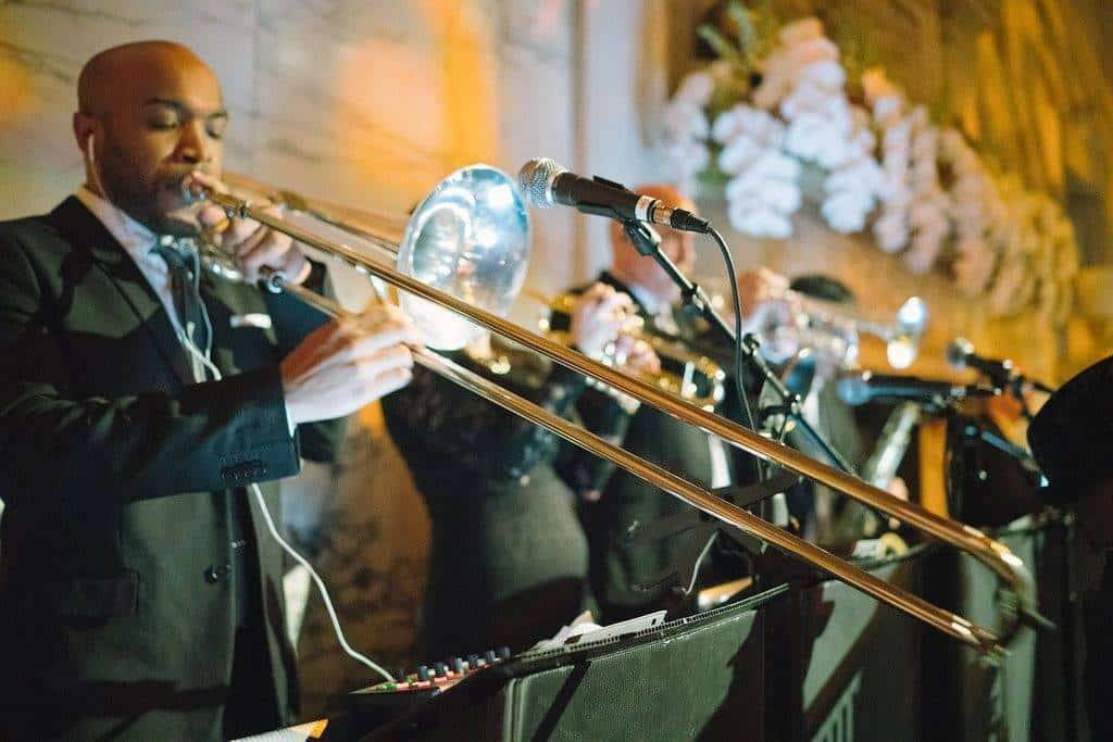 A Grand New York City Wedding live band