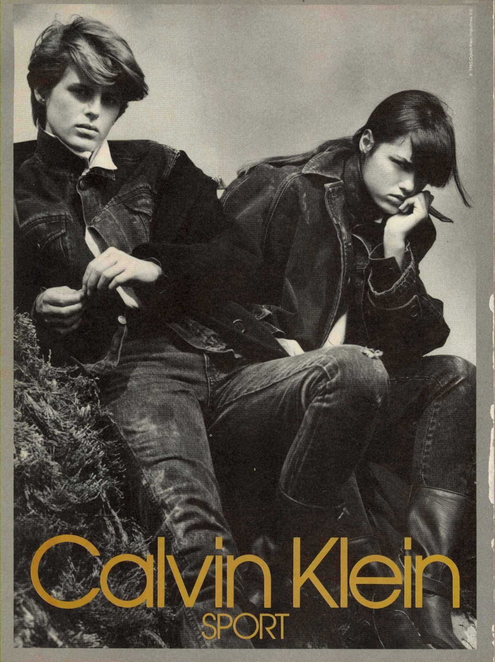 Calvin Klein's denim revolution
