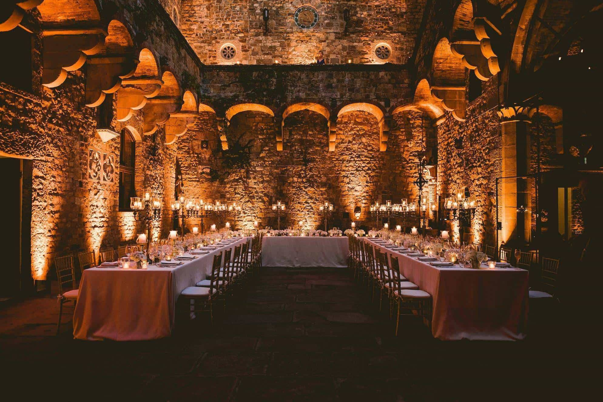 A fairytale castle wedding