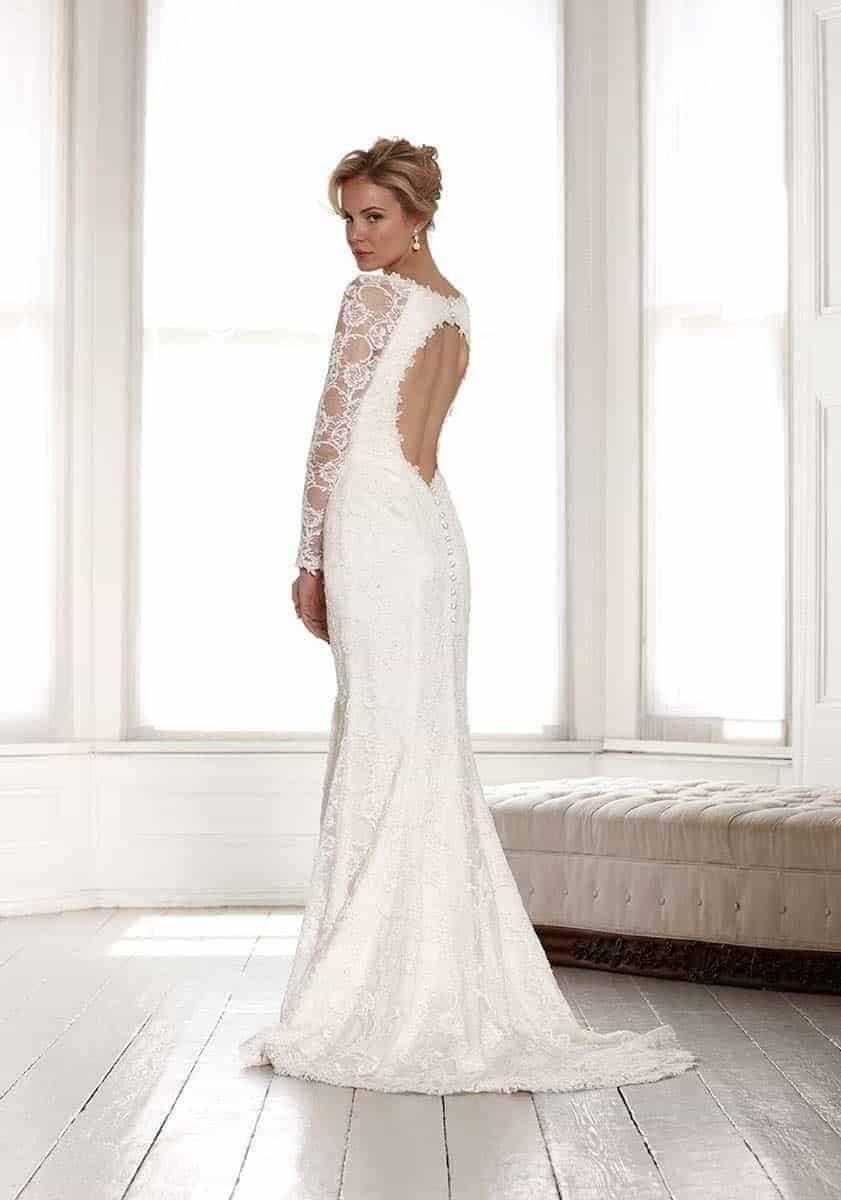 Sassi Holford 2015 Estelle back copy - Luxury Wedding Gallery