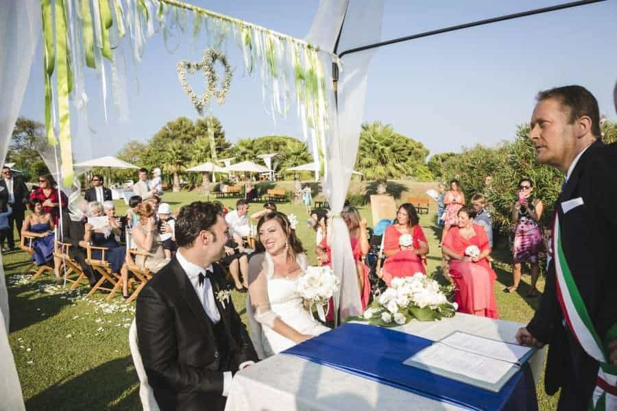 Outdoors Indoors wedding - Italian Wedding Service