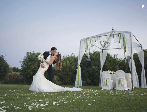 Outdoors Indoors Wedding in Italy