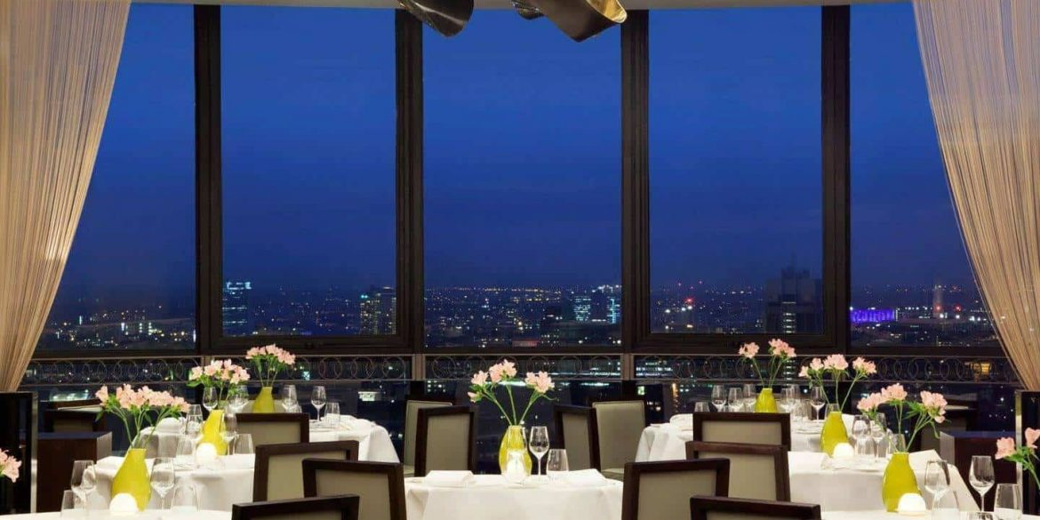 Taking dining to new heights – Galvin at Windows