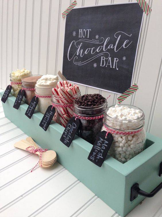 Our Five Favourite Festive Food Stations