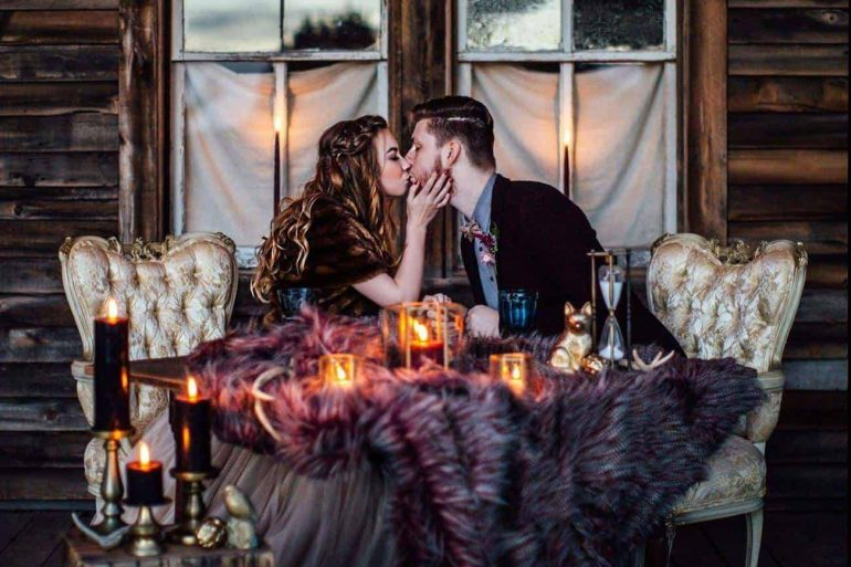 Wedding Colour Ideas – Warm Winter Palettes