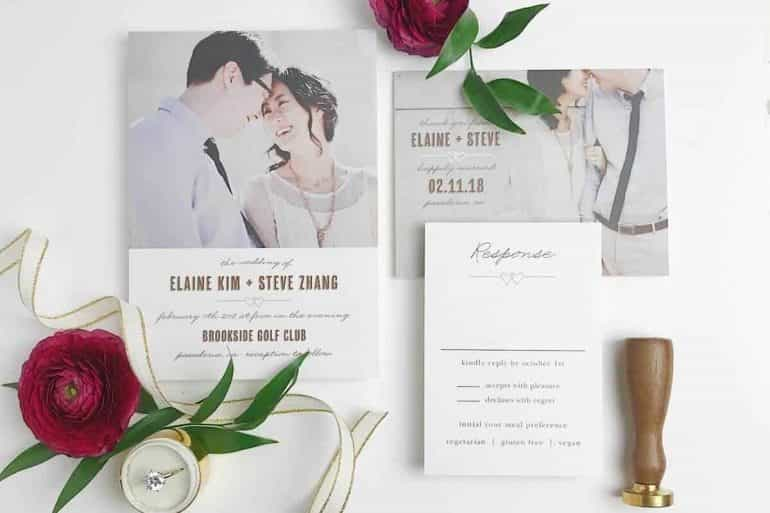 Beautiful Stationery from Basic Invite