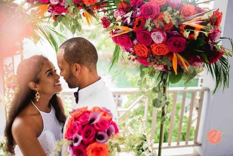 Hot Neons with Chic Bahamas Weddings
