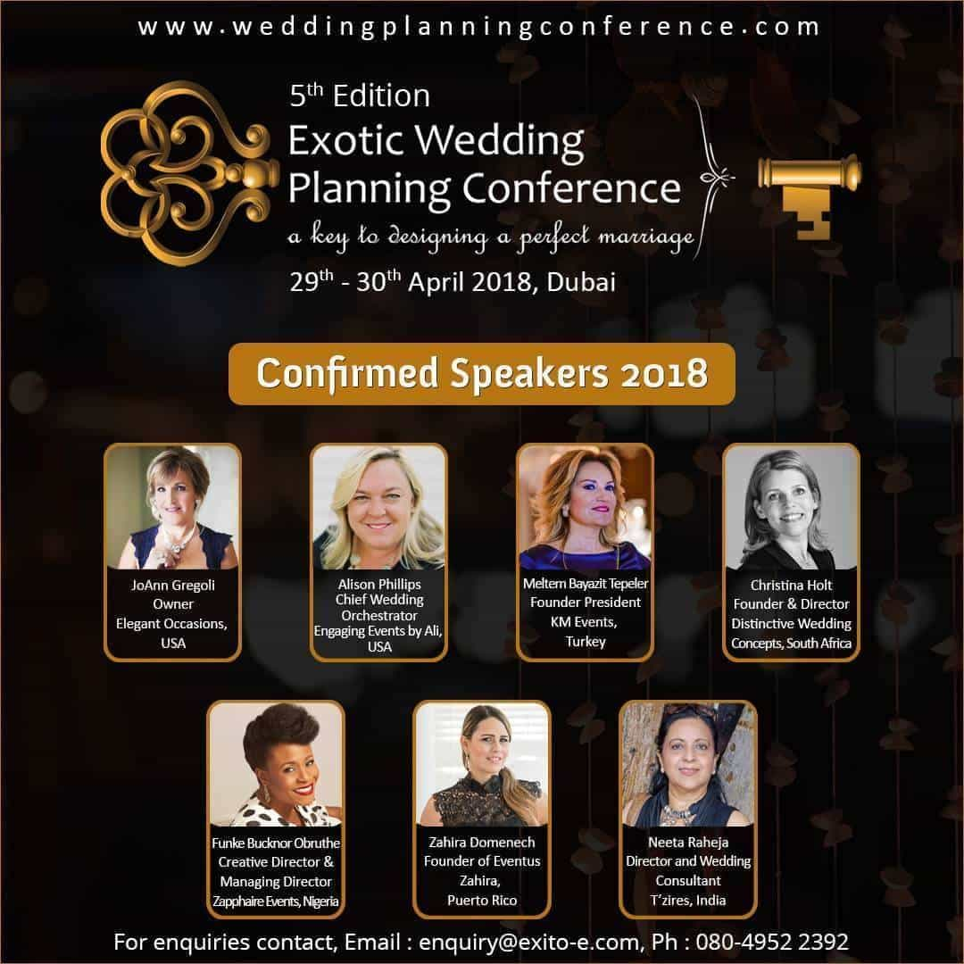 5th Edition of Exotic Wedding Planning Conference