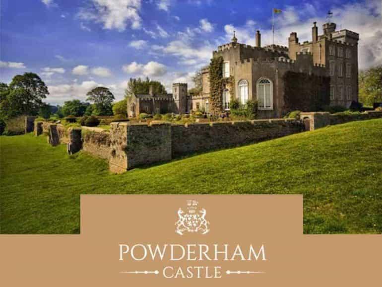 powderham castle logo
