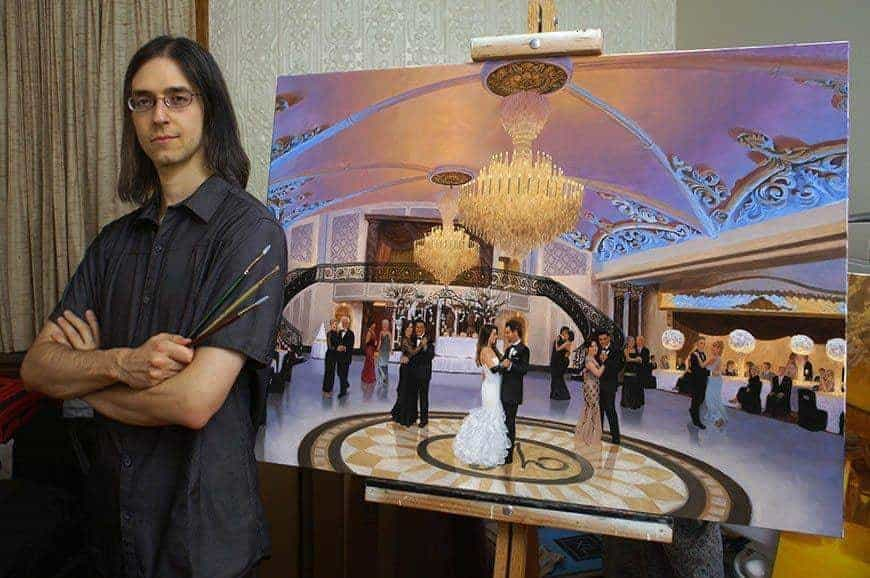 Spotlight on Anthony Galati - Live Event Painter
