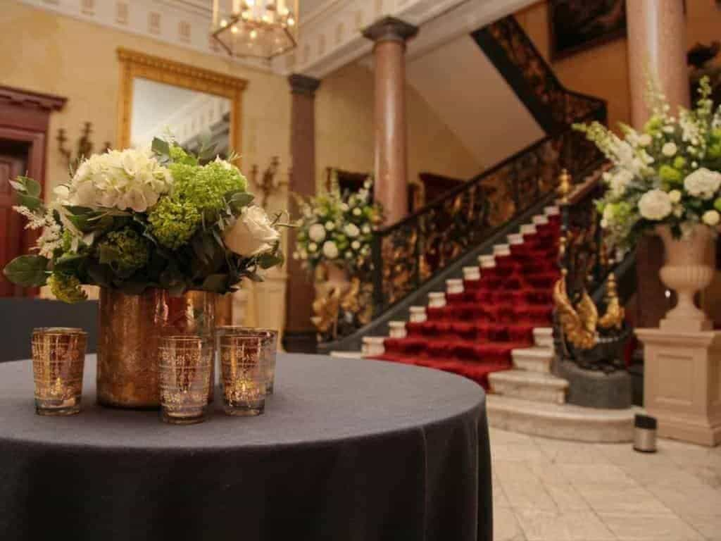 03 Wallace Collection Front Hall photocredit c Charlotte Fielding Photography - Luxury Wedding Gallery