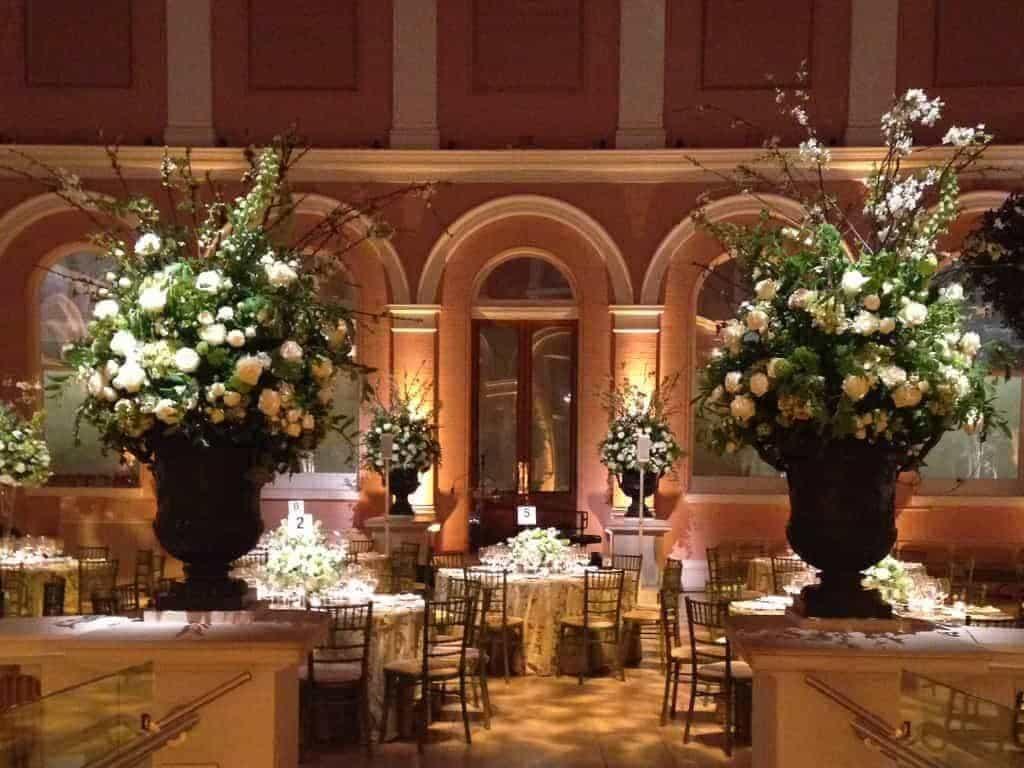 14 Wallace Collection Courtyard Wedding Breakfast - Luxury Wedding Gallery