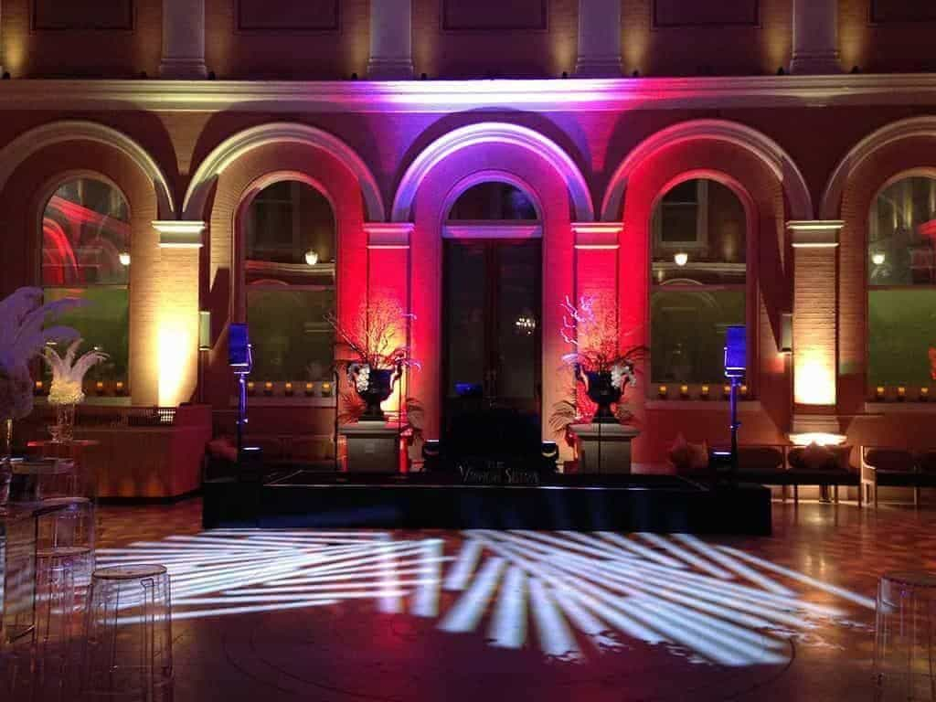 20 Wallace Collection Courtyard afterparty - Luxury Wedding Gallery