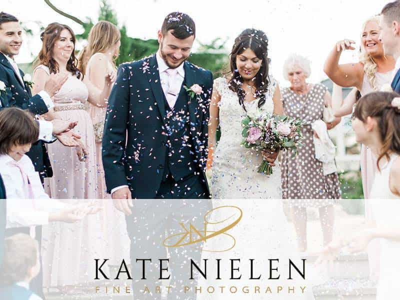 Kate Nielen Photography logo - Luxury Wedding Gallery