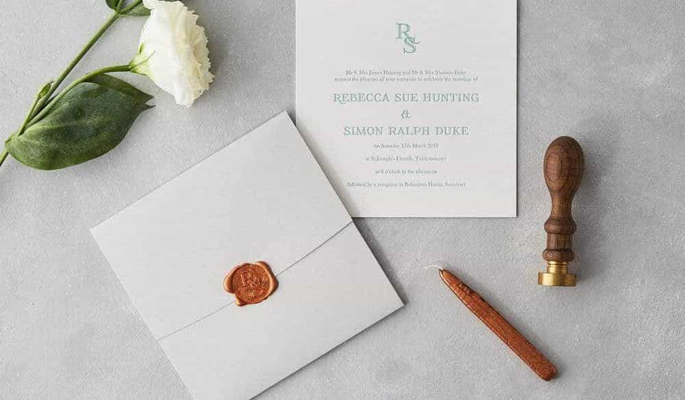 Sublime Wedding Stationery 1